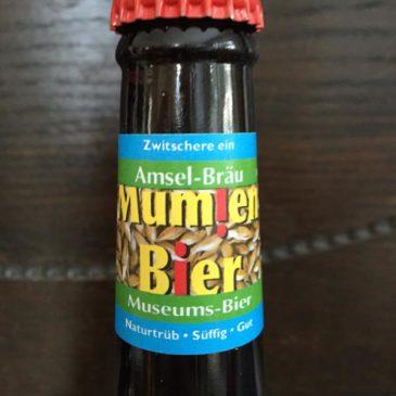 Mumien-Bier an der Museumsnacht