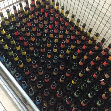 Flaschen in Erwartung