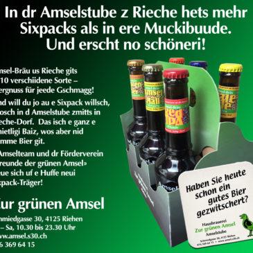 Ist die grüne Amsel nun auch eine Muckibude?